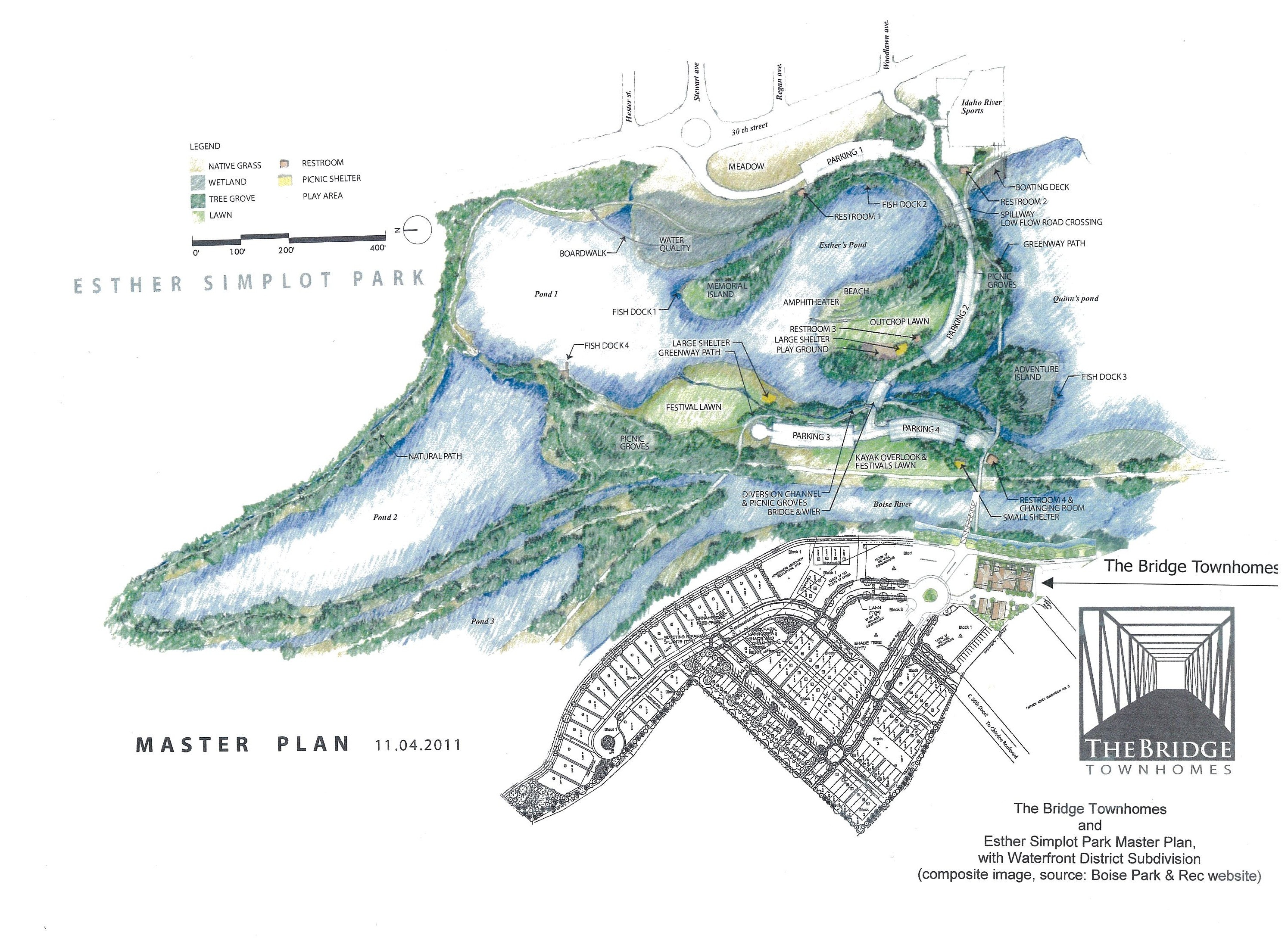 Esther Simplot Park rendering